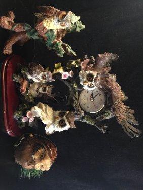 A Owl Style Clock