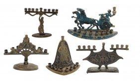 5 Hanukkiyot Of The Maccabees, 20th Century.