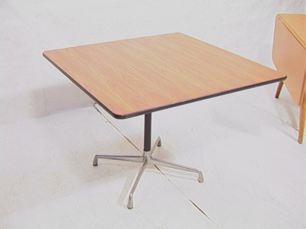 91 herman miller square top dining office table waln lot 91