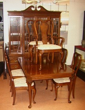 88 queen anne dining room set pennsylvania house ba lot 88