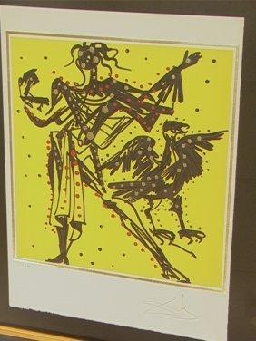 SALVADOR DALI Lithograph Print. JOHN -  The Twelv