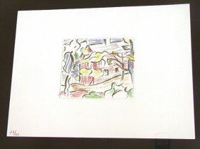 ROY LICHTENSTEIN  Offset Lithograph Print,  Color