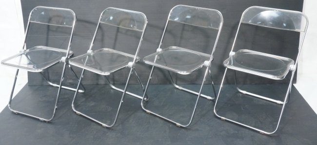 clear acrylic folding chairs 1