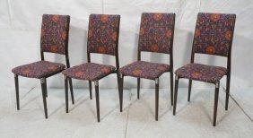 Set 4 Italian Dining Chairs. Eugenio Gerli Otto S