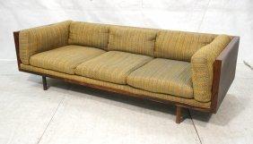 Thayer Coggin By Milo Baughman Rosewood Sofa. Mul