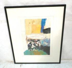 """Dex Verner Art Print. Modernist. """"fiddler On The"""