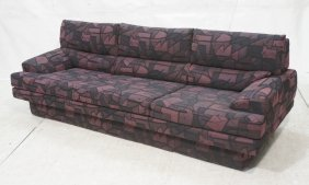 Milo Baughman For Thayer Coggin Fabric Sofa Couch