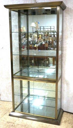 Mastercraft Style Display Cabinet. Antiques Bron