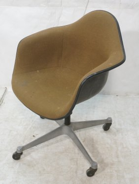 Herman Miller Desk Shell Chair. Upholstered. Ad