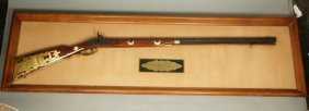 "Franklin Mint ""davy Crockett 41 Caliber Rifle"". """