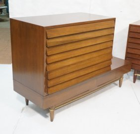 American Modern Bedroom Dressers. Three Drawer Ca