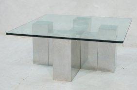 Stainless Paul Mayen For Habitat Coffee Table. Cr