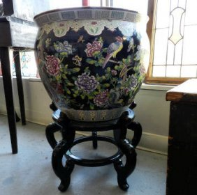 Asian Pottery Planter
