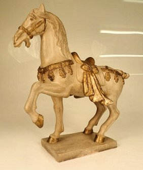 Vintage Chinese Horse Statue