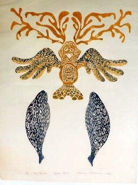 Inuit Art Susanne Pilakapsi