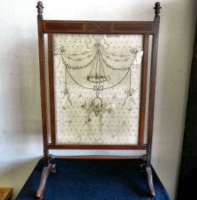 Sheraton Style Fire Screen