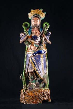 Ceramic Pottery Figurine