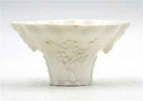 Blanc De Chine Libation Cup