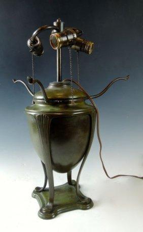 Tiffany Studios Greek Urn Lamp Base