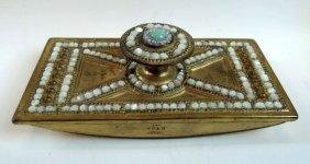 Tiffany Studios Byzantine Pattern Desk Piece