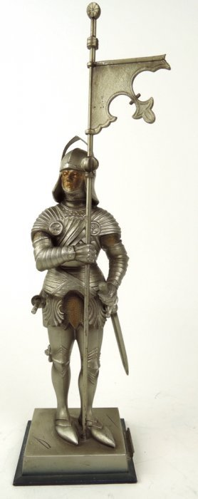 Knight In Armor Cigar Lighter