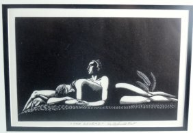 "Rockwell Kent ""the Lovers"""
