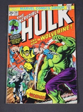 "Vintage Rare Hulk Comic Book #181 ""the Incredible Hulk"