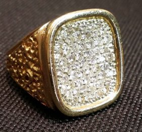 One Ounce 14k Gold & Platinum 3.00ctw Diamond