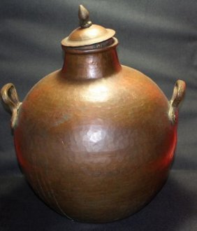 Ancient Indo-persian-mughal Period Copper Pottery