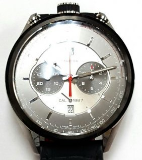 Rare Mens Tagheuer Stainless Steel Watch