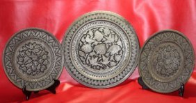 Ancient Silver & Copper Pounded Indo-persian-mughal