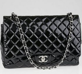 Authentic Chanel Black Maxi