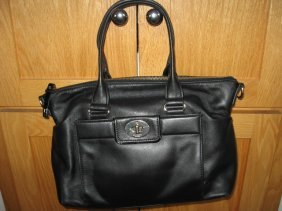 Kate Spade Black Leather Purse Handbag