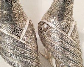 Ancient Indo-mughal Persian Sassanian Ancient Silver W.