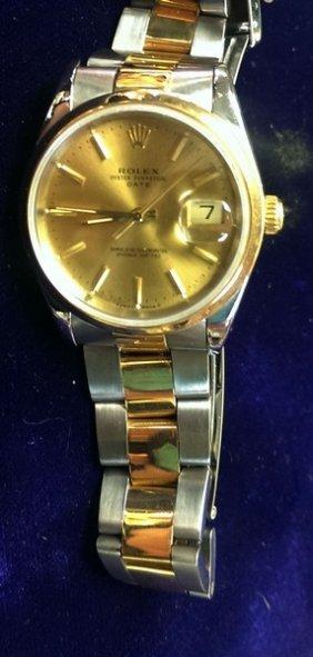 Rolex Date Watch 2-tone (pre-owned)