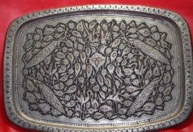 Ancient C1850 Indo-persian-mughal Handmade Copper &