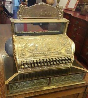 Antique C1904 Collectible National Cash Register 2