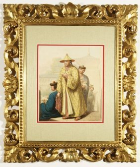 OPITZ ANTIQUE RUSSIAN PAINTING OF CHINA