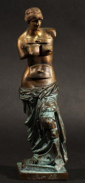 381 dali bronze sculpture venus aux tiroirs lot 381