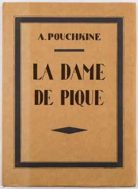 La Dame De Pique [the Queen Of Spades], Signed And