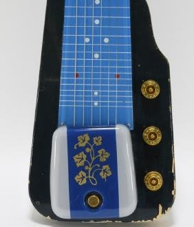 Gibson Blue Electric Lap Steel Guitar