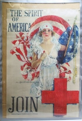 Howard Chandler Christy American Red Cross Poster