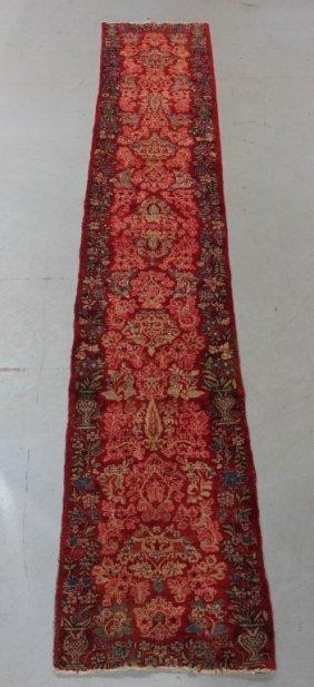 Persian Kashan Runner Rug