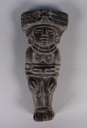 Pre Columbian Mayan Classic Period Shaman Pendant