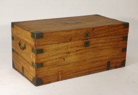 Chinese Camphor Wood Campaign Chest