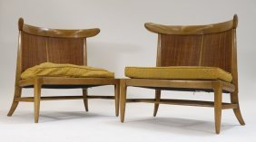 Pr Tomlinson Sophisticate Mcm Low Slipper Chair