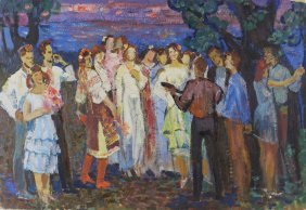 Vladimir Dmitrievich Nesterov Russian Painting