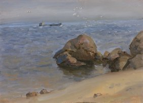Aleksei Eremeehvic Karmaz Russian Painting