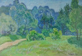 Victor Kirilovich Gaiduk Spring Russian Painting