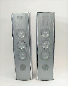 Pair Of Swiss Piega Speakers